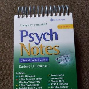 Psych Notes clinical pocket guide 5t